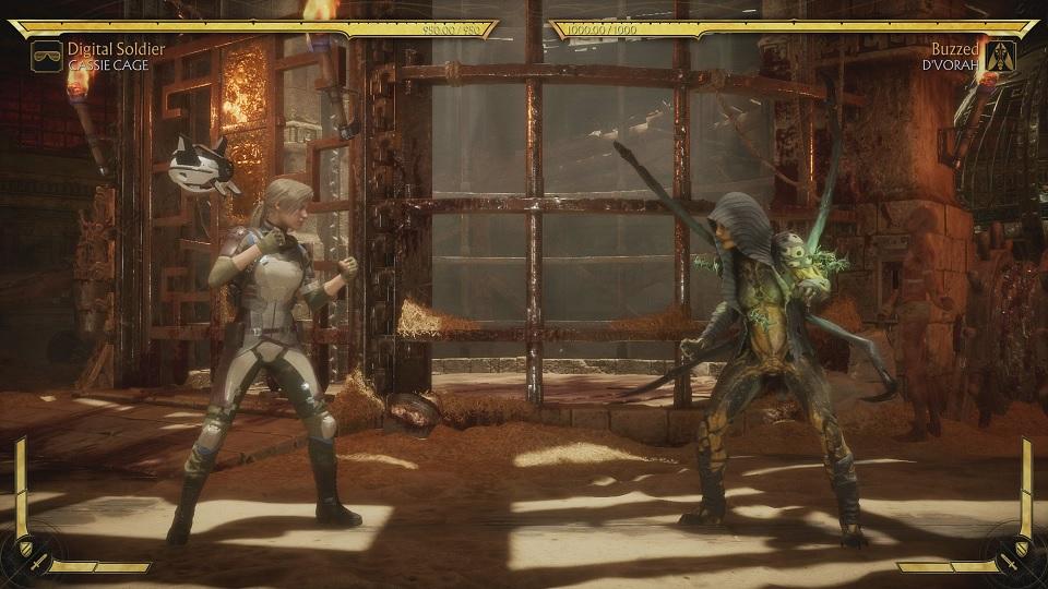 Fighting D'Vorah