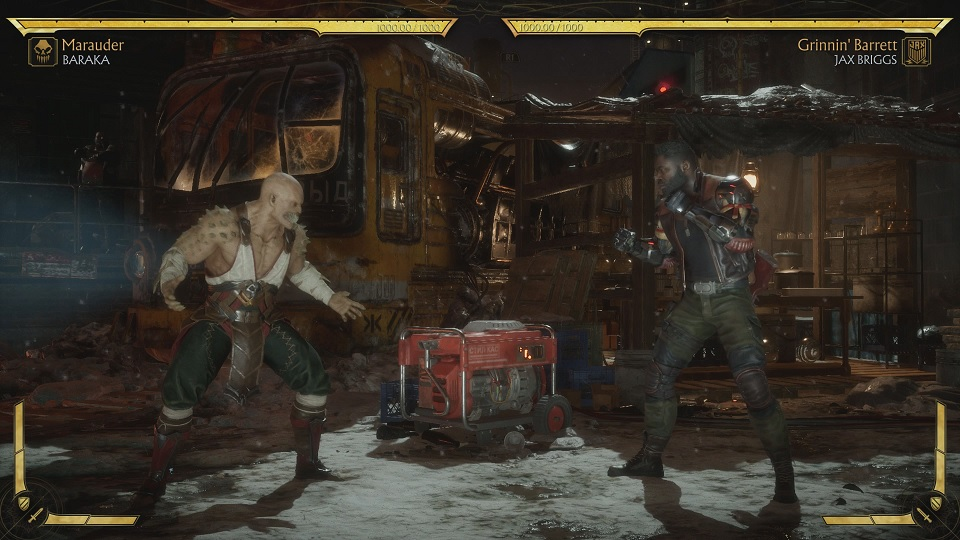 Fighting Jax Briggs