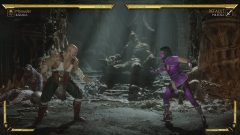 Fighting Mileena