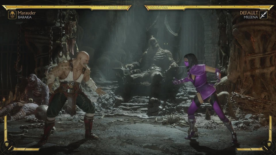 Fighting Mileena