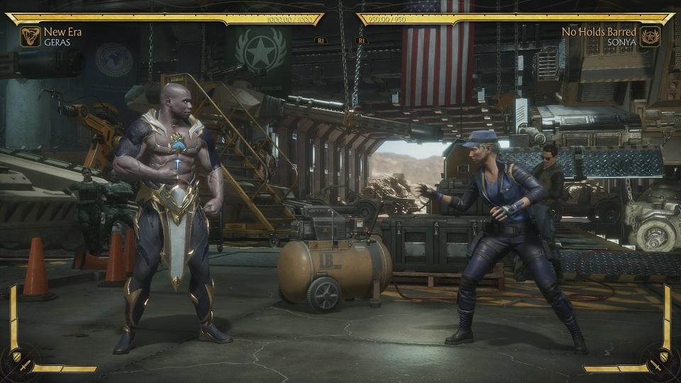 Fighting Sonya