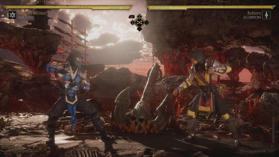 Fighting Scorpion