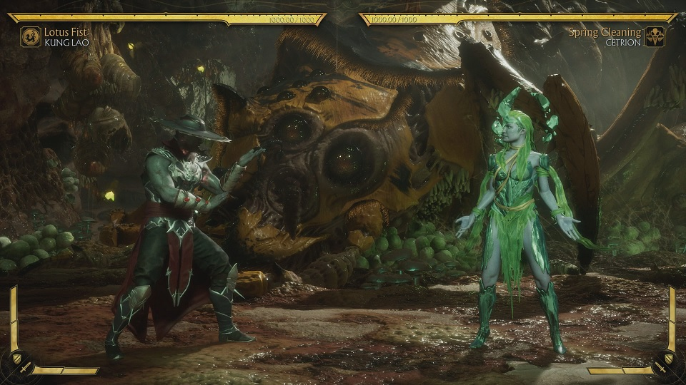 Fighting Cetrion