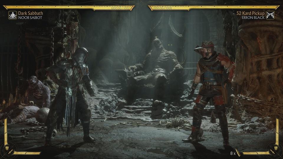 Fighting Erron Black