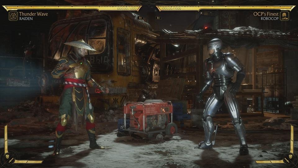 Fighting RoboCop