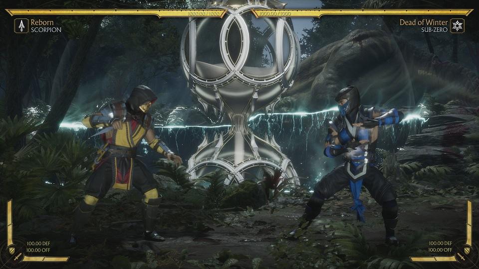 Fighting Sub-Zero