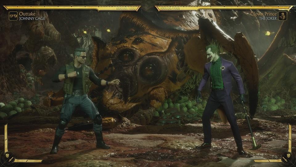 Fighting the Joker