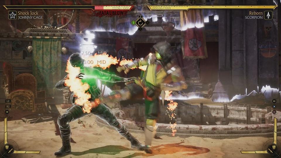Fatal Blow Flash Parry