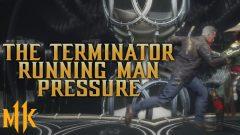 Running Man Stance Pressure